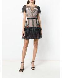 Temperley London - Black Bourgeois Mini Dress - Lyst
