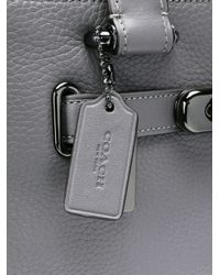 COACH - Gray Swagger 27 Bag - Lyst
