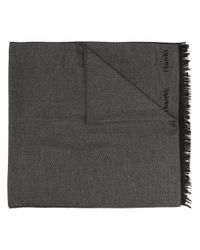 メンズ Church's ヘリンボーン スカーフ Black
