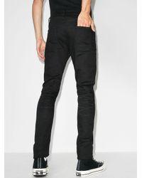 Джинсы Скинни С Пятью Карманами Saint Laurent для него, цвет: Black