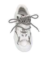Кроссовки Billy На Массивной Подошве N°21, цвет: White