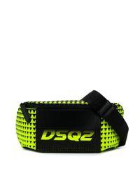 Поясная Сумка Bionic Sport Dsq2 Race DSquared² для него, цвет: Multicolor