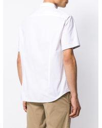 メンズ BOSS ショートスリーブ シャツ White