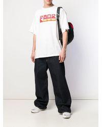 メンズ Facetasm フレア ワイドジーンズ Multicolor
