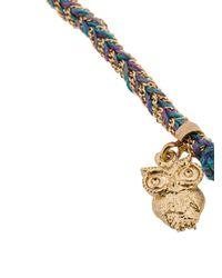 Carolina Bucci - Metallic Intuition Owl Lucky Bracelet - Lyst