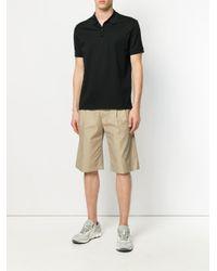 メンズ Lanvin クラシック ポロシャツ Black