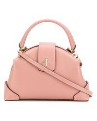 MANU Atelier | Pink Top Handle Cross Body Bag | Lyst