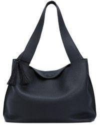 The Row - Black Duplex Shoulder Bag - Lyst