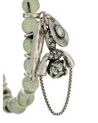 Set de trois bracelets Camila Klein en coloris Metallic