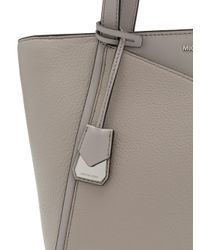 MICHAEL Michael Kors - Gray Whitney Large Tote - Lyst
