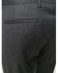 Pantalones de vestir slim Paul Smith de hombre de color Gray