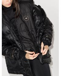 Adidas By Stella McCartney パデッドジャケット Black