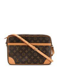 Louis Vuitton プレオウンド Trocadero 30 ショルダーバッグ Brown