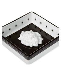 Plateau carré imprimé Gucci pour homme en coloris Black