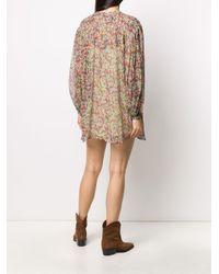 Isabel Marant フローラル ドレス Multicolor