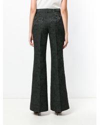 Dolce & Gabbana フレア トラックパンツ Black