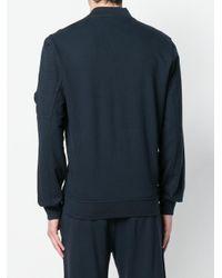 C P Company Blue Lens Full Zip Sweatshirt for men