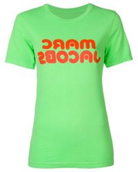 Marc Jacobs ロゴ Tシャツ Green