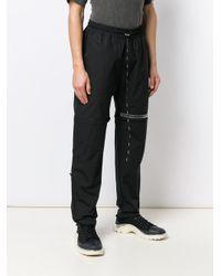 メンズ Represent ロゴ トラックパンツ Black