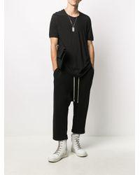 Rick Owens Drkshdw Black Level Slim-fit T-shirt for men