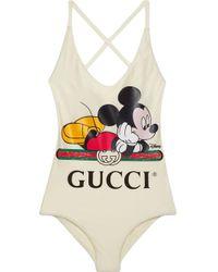 Gucci グッチdisney (ディズニー) X スイムスーツ White