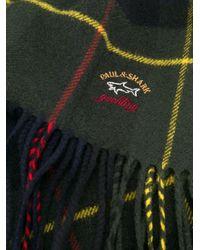 メンズ Paul & Shark チェック スカーフ Multicolor
