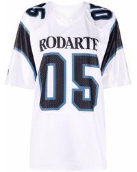 T-shirt à logo imprimé Rodarte en coloris White