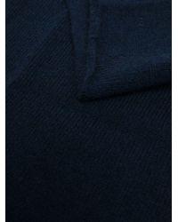 Sciarpa ad anello di Dell'Oglio in Blue da Uomo