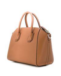 Givenchy アンティゴナ ハンドバッグ S Brown