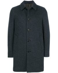 Aspesi Gray Single-breasted Coat for men