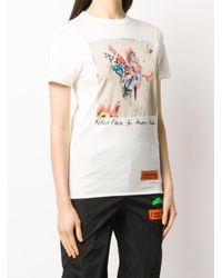 Heron Preston グラフィック Tシャツ White