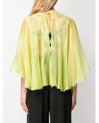 Blusa stile cappa Hohan di Maria Lucia Hohan in Yellow