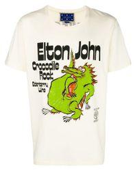 T-shirt Elton John Gucci pour homme en coloris Multicolor