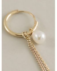 Wouters & Hendrix - 18kt Yellow Gold 'spikes, Pearls And Claws' Earrings - Lyst