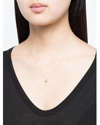 Sydney Evan | Metallic 14kt Yellow Gold Diamond Palm Tree Necklace | Lyst