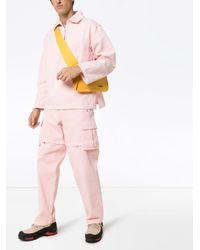 Top Le Marin de manga larga Jacquemus de hombre de color Pink