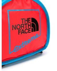 メンズ The North Face カラーブロック バックパック Red