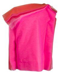 Gianluca Capannolo オーバーサイズ ドレス Pink