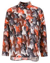 Camisa estampada Andrea Marques de color Multicolor