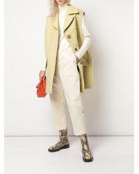 Manteau à design sans manches Marni en coloris Green