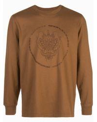 T-shirt con ricamo di Supreme in Brown da Uomo