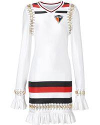 Vestito corto di Burberry in White