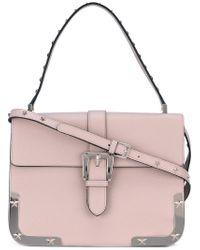 RED Valentino   Pink Star Detail Shoulder Bag   Lyst