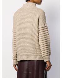 Snobby Sheep チャンキーニット セーター Natural
