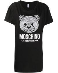 Moschino テディベア Tシャツ Black