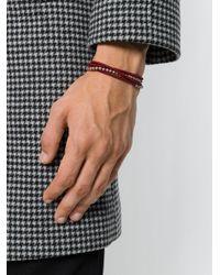 M. Cohen - Red Beaded Bracelet - Lyst