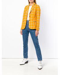 Etro - Multicolor Checked Blazer - Lyst