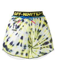 Off-White c/o Virgil Abloh X Nike Nrg Shorts White