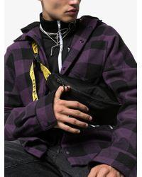Riñonera con logo Off-White c/o Virgil Abloh de color Black