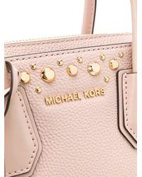 MICHAEL Michael Kors スタッズ ハンドバッグ Pink